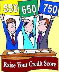 Raise your credit score now